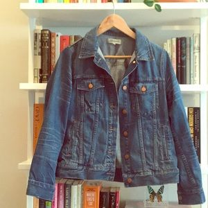Madewell The Jean Jacket in Pinter Size L